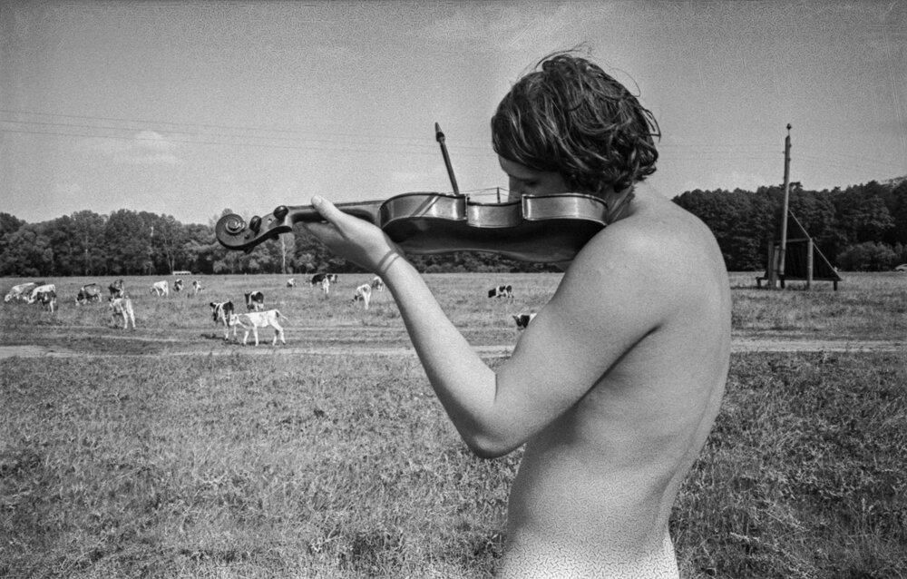 Из серии «Скрипка», 1972