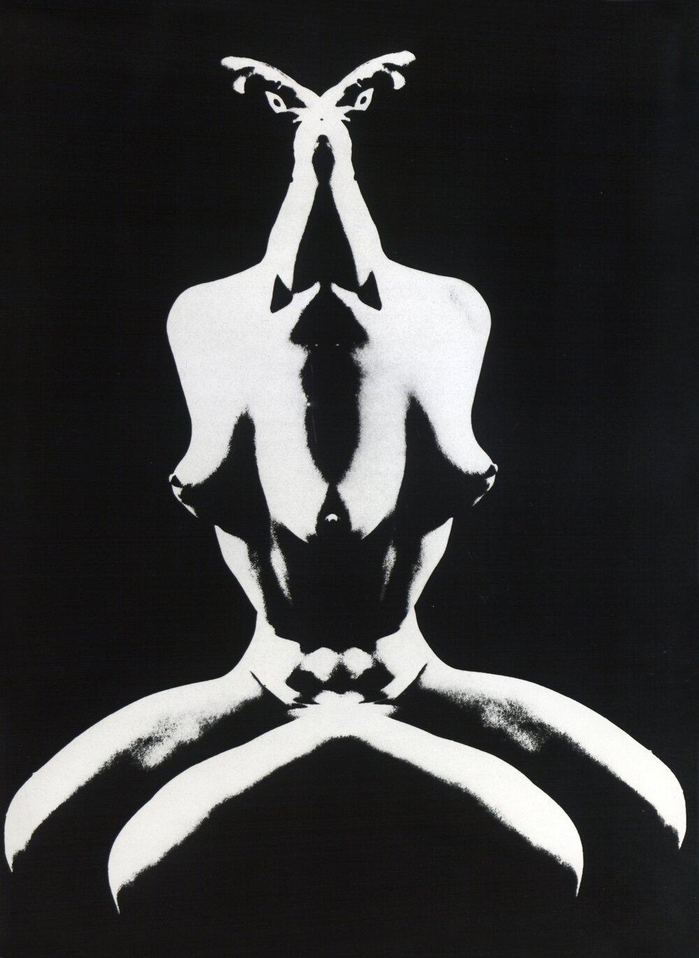 Геннадий Тубалев. Привидение матриархата. 1971. Серебряно-желатиновая печать. Предоставлено Grynyov Art Foundation