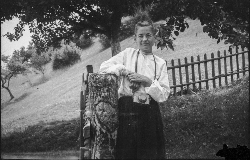 Портрет Параски Плитки-Горицвіт. Автор невідомий. Друга половина XX—го століття. Фотоархів Параски Плитки-Горицвіт