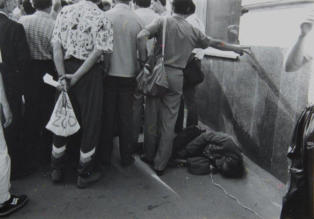 Евгений Павлов. Из «Архивной серии». 1988. Серебряно-желатиновая печать. Предоставлено автором