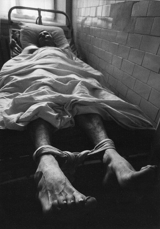 Евгений Павлов. Из серии «Психоз». 1983. Серебряно-желатиновая печать. 60х40 см. Предоставлено автором