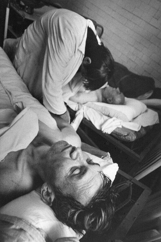 Евгений Павлов. Из серии «Психоз». 1983. Серебряно-желатиновая печать. Предоставлено автором