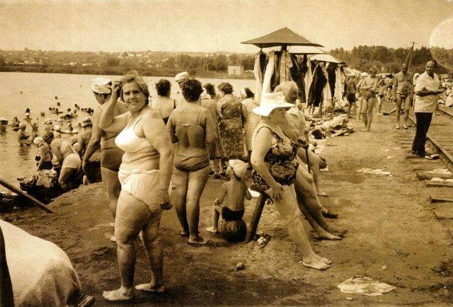 Борис Михайлов «Солоне озеро»,1986