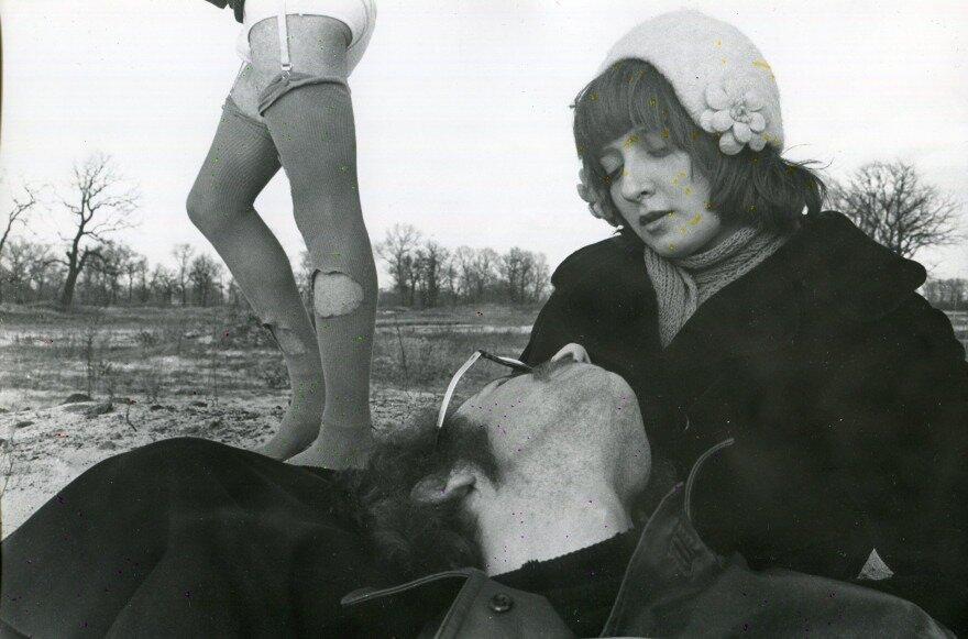 Євген Павлов. Серія «Любов». 1976. Срібно-желатиновий друк. Надано Grynyov Art Foundation