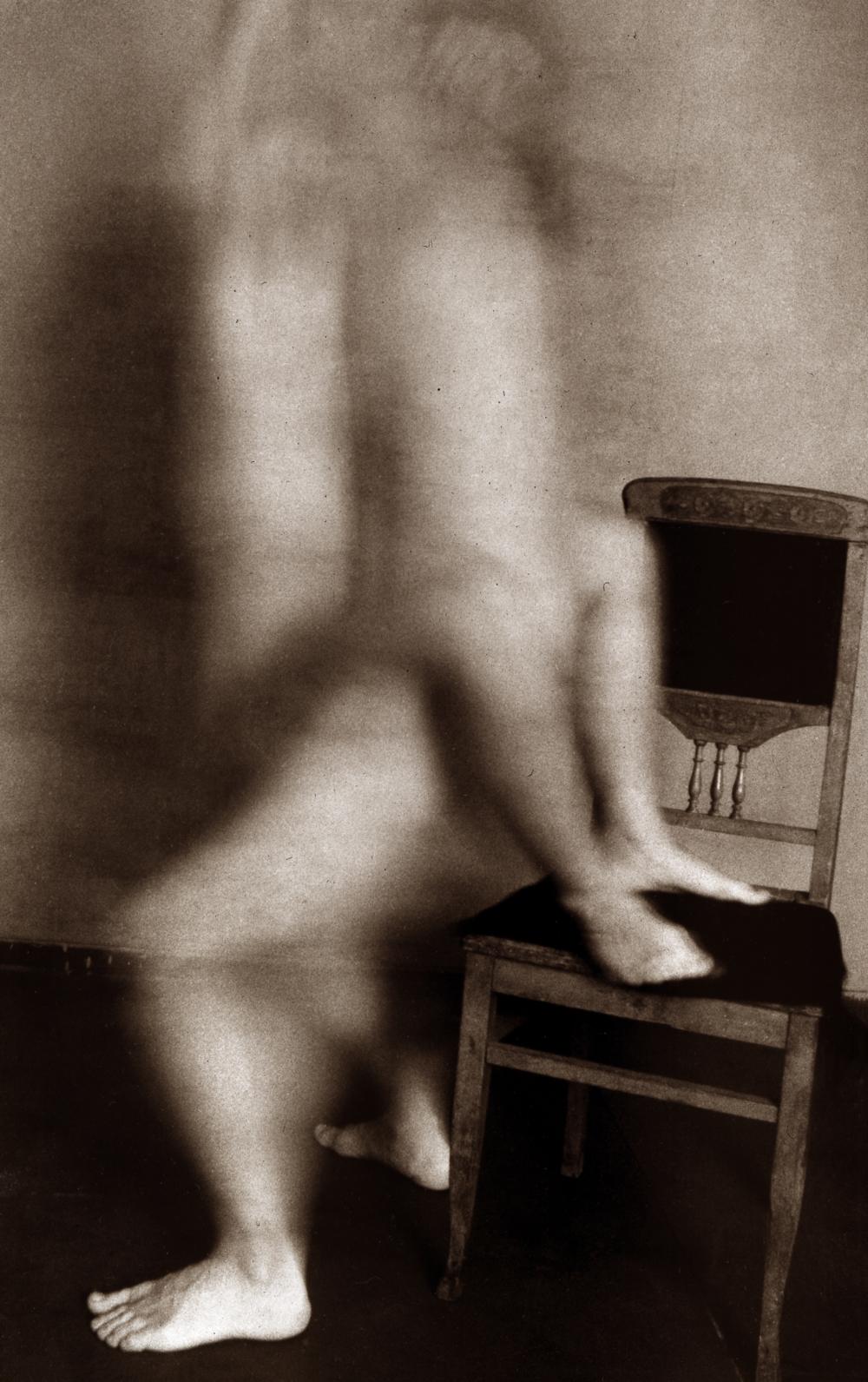 Сергій Солонський. Аркуш серії «Тіло». 1993. Срібно-желатиновий друк. Надано Музеєм харківської школи фотографії
