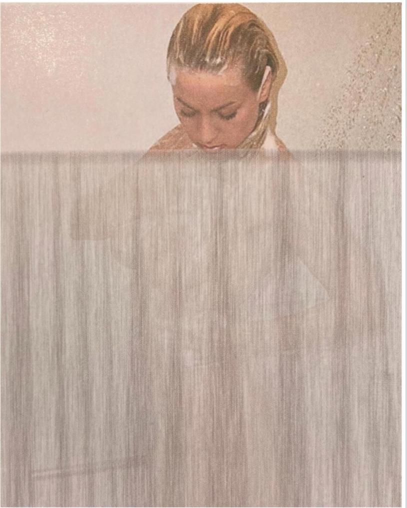Наталя Голіброда. Караоке. 2001. Ілюстрація з каталогу KIMAF