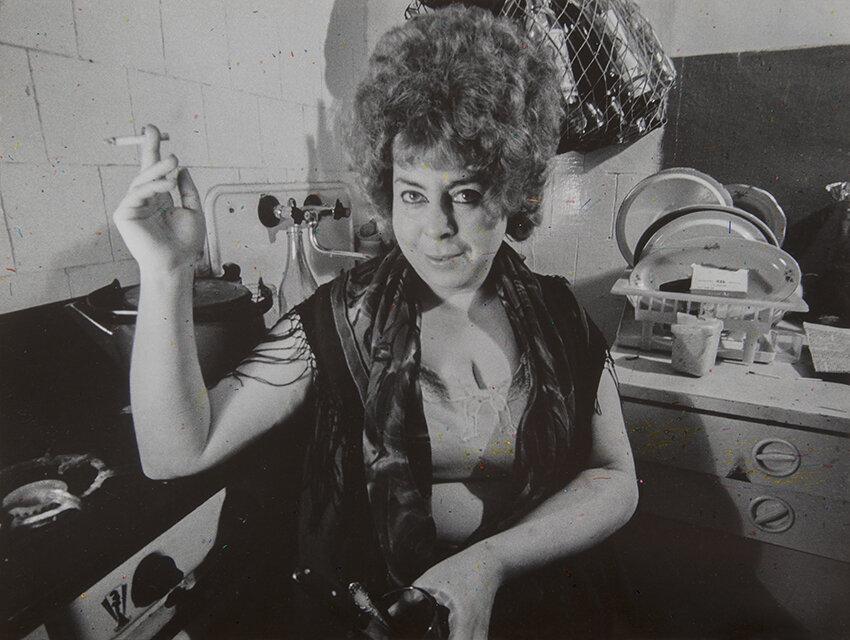 Євгеній Павлов, «Без назви», 1974. З «Архівної серії» (1965-1988)