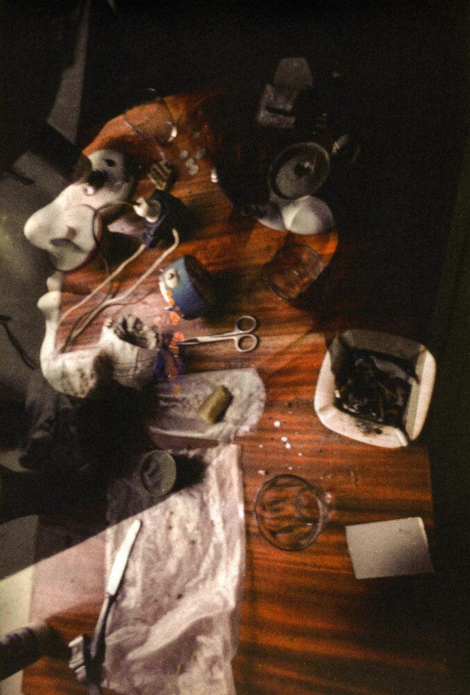 «Без названия» (Портрет Бори Кагана),1974-1976