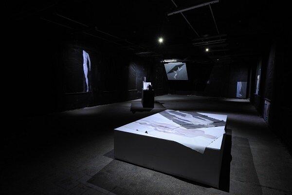 Виставка «Ступ», Леся Хоменко, Closer, 2015. Світлина: Макс Роботов
