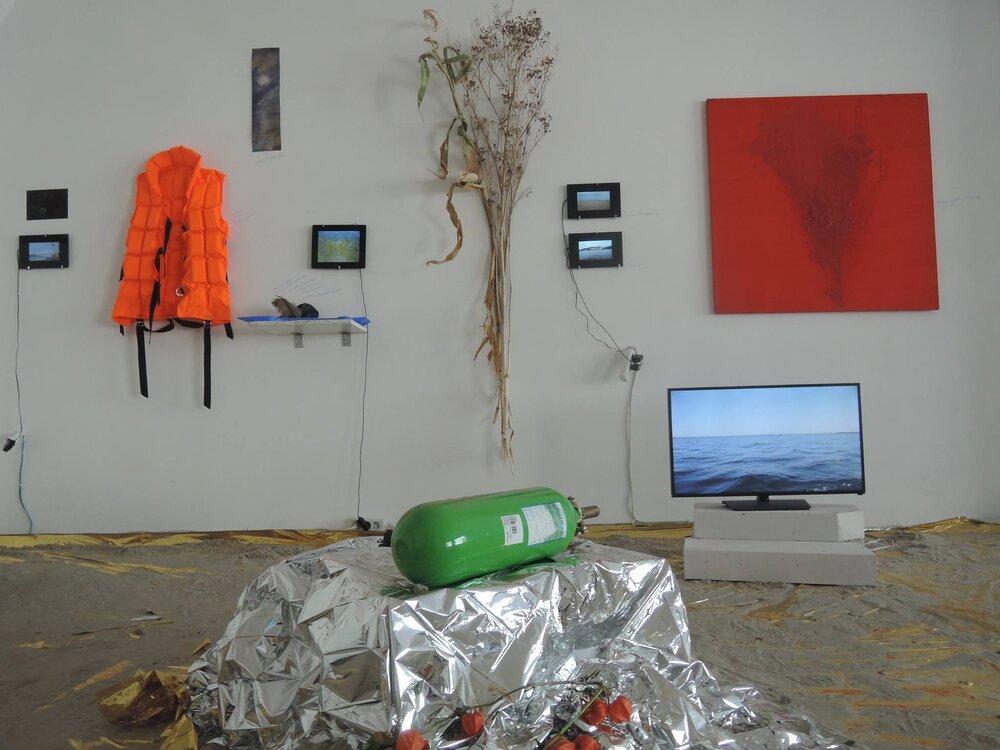 """Виставка «Пліт """"Крим"""". Карта долі» у Центрі візуальної культури, 2016 рік"""