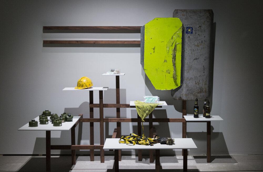 Джеймс Бекет «Пари», виставка «Революціонуймо», 2018. Світлина: www.dus.gov.ua/