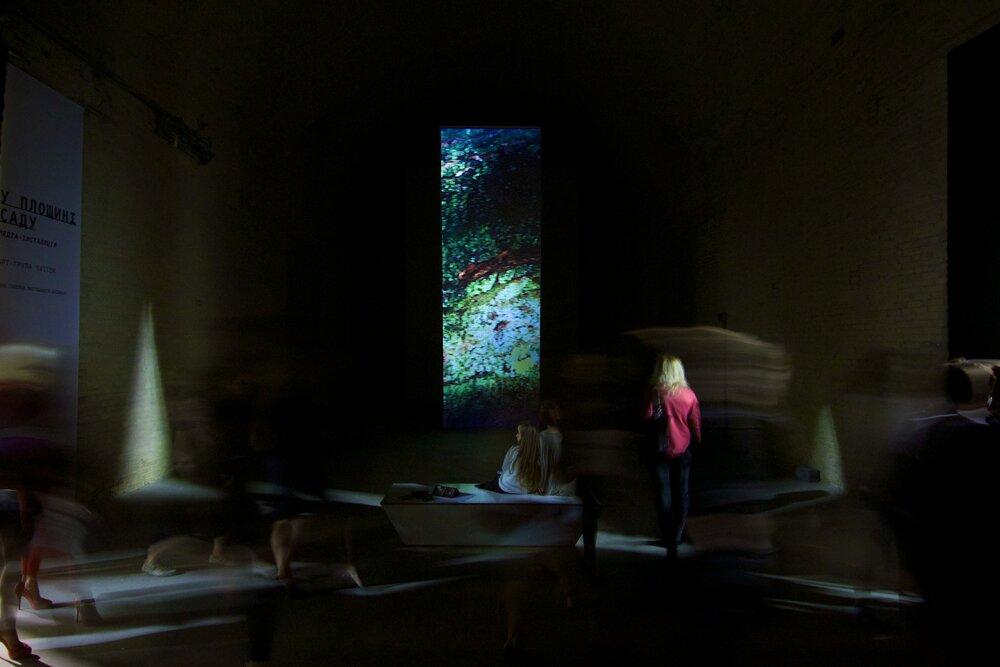 «У площині саду» Х ART KYIV Contemporary, 2015, Мистецький Арсенал. Світлина: Макс Роботов