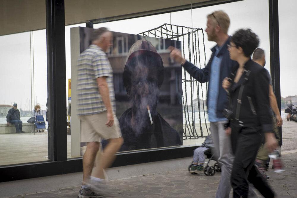 Please don't take my picture! Or they'll shoot me tomorrow, Національний павільйон України на 56-й виставці мистецтв у Венеції, La Biennale di Venezia, 2015
