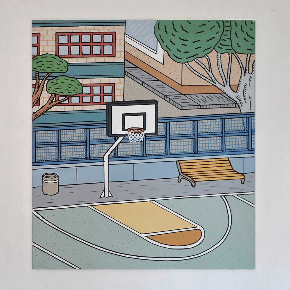«Поле для баскетболу»