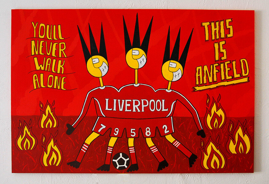 You will never walk alone/Liverpool
