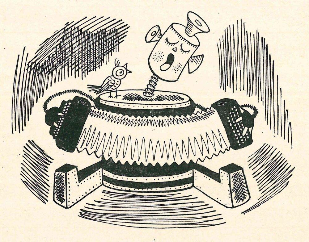 Ілюстрації до книжки Олександра Кондратова «Число и мысль», 1963