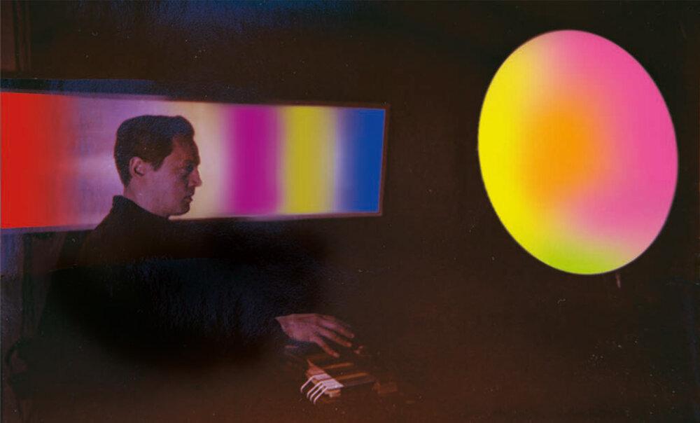 Перший публічний концерт музики кольору Флоріана Юр'єва. З особистого архіву Флоріана Юр'єва