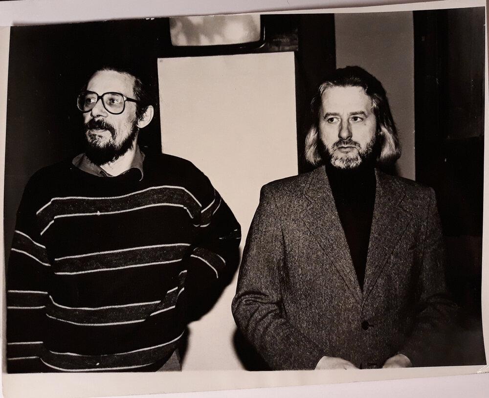 Владимир Шапошников и Евгений Светличный. Из архива Евгения Светличного