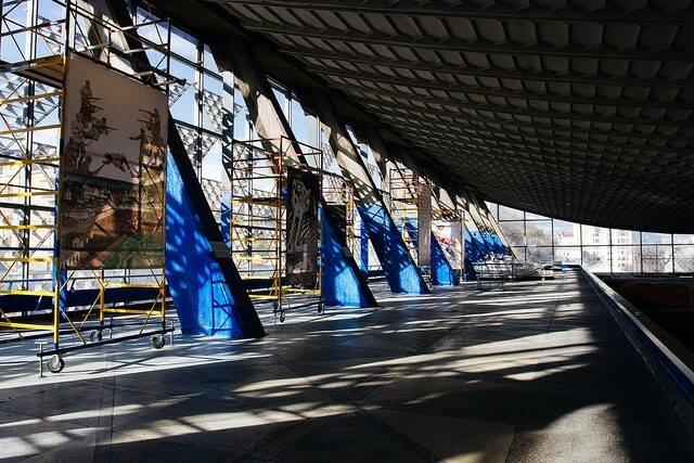 Виставка «Ринок» у межах Київської бієнале 2017 — «Інтернаціонал». Світлина: VCRC