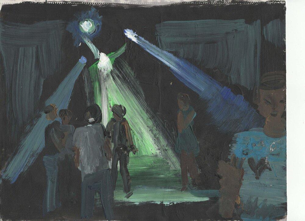 Малюнки з альбому, 2016 рік. З колекції Павла Вишневецького