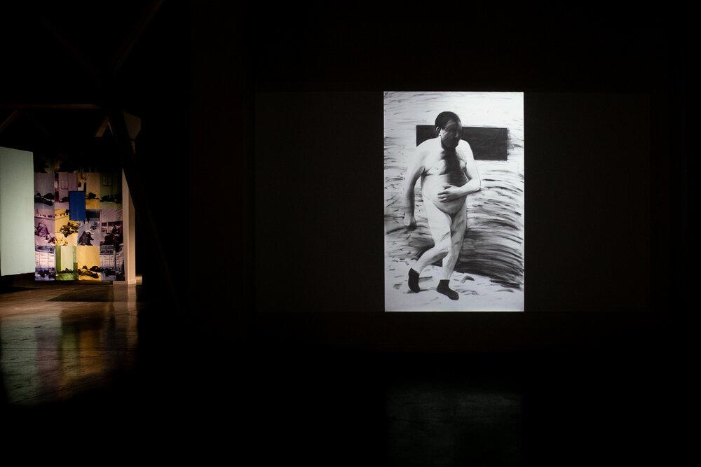 Робота з серії «(не)означені» Нікіти Кадана. Експозиція виставки «Короткий список». Світлина: Костянтин Поліщук