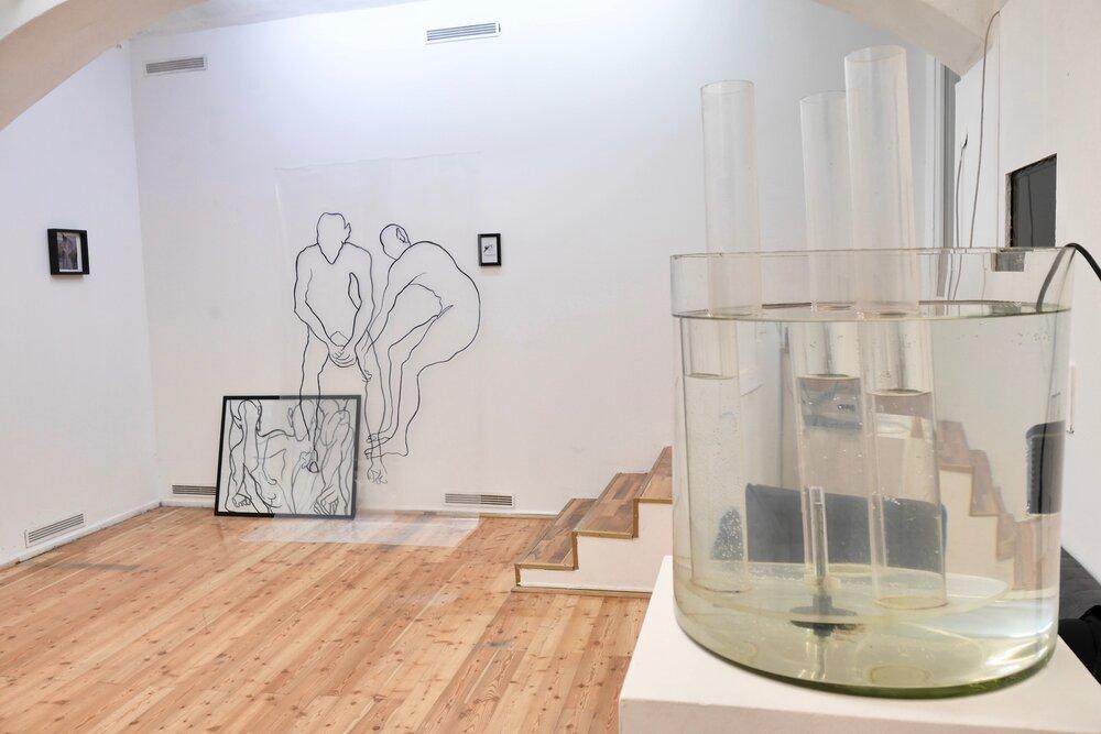 Світлина експозиції виставки Anatomy of river smuggling