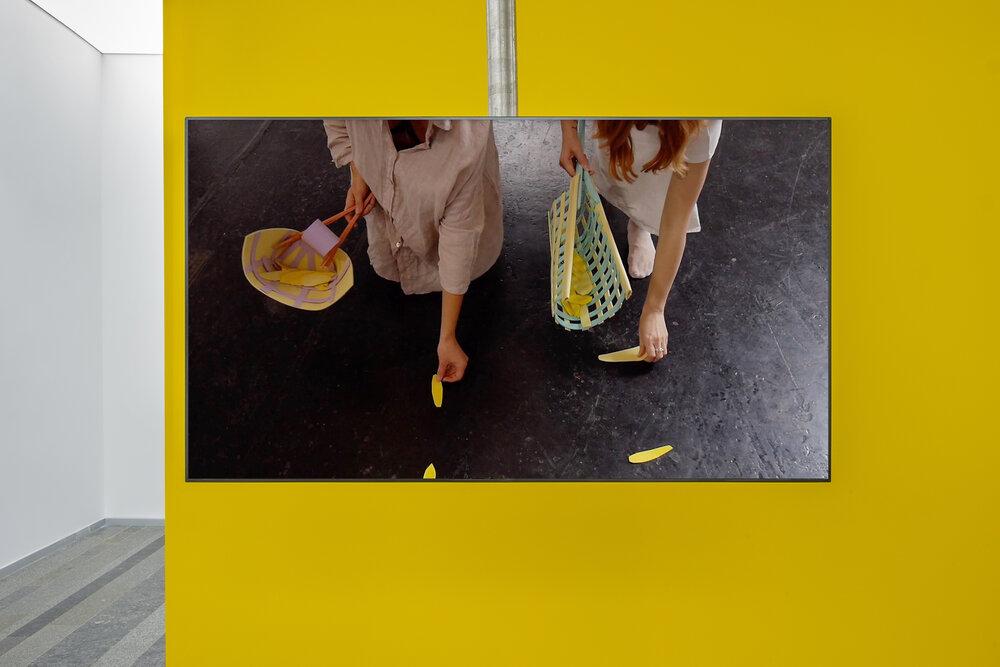 Аліна Соколова, « Хореографія праці», 2019. Фотографії надані PinchukArtCentre © 2020. Фотограф: Максим Білоусов