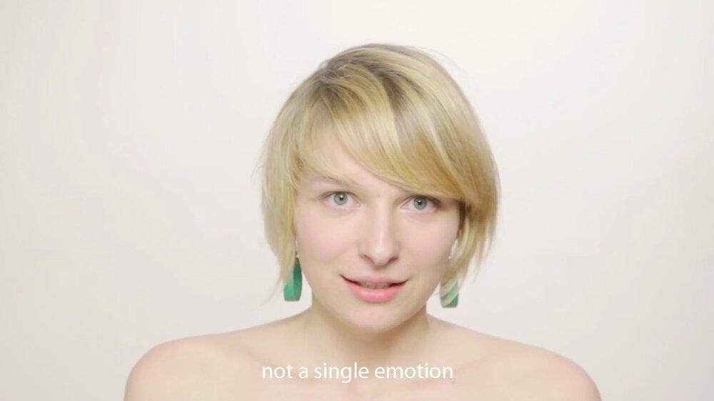 Кадр із відеоарт проєкту «Біль», 6' 2011. Фото надала авторка