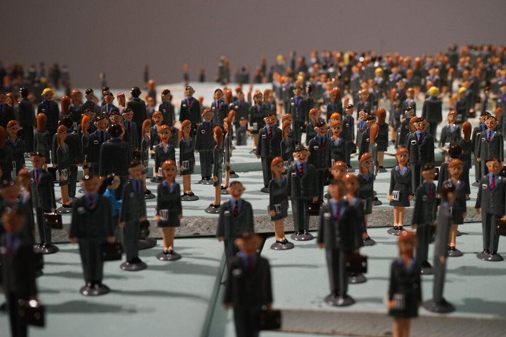 Пліснява. 2009–2017. Фотографії з експозиції виставки «Перманентна революція», Музей Людвіга, Будапешт