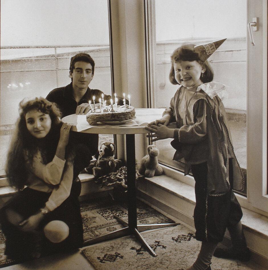 Із серії «Емігранти». День народження Віти Кисленко, 1995 рік. Німеччина, Карлсруе