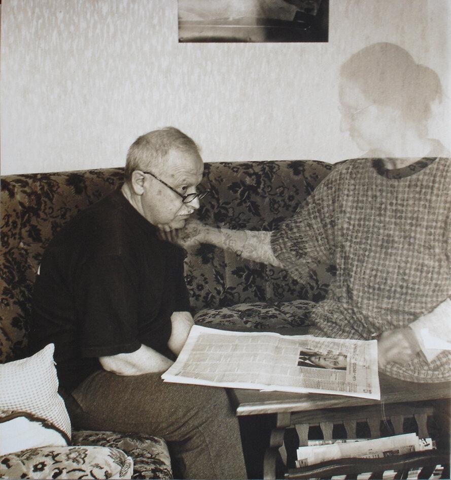 Мій чоловік і я вдома, із серії «Присутність», 2005 рік, Кассель