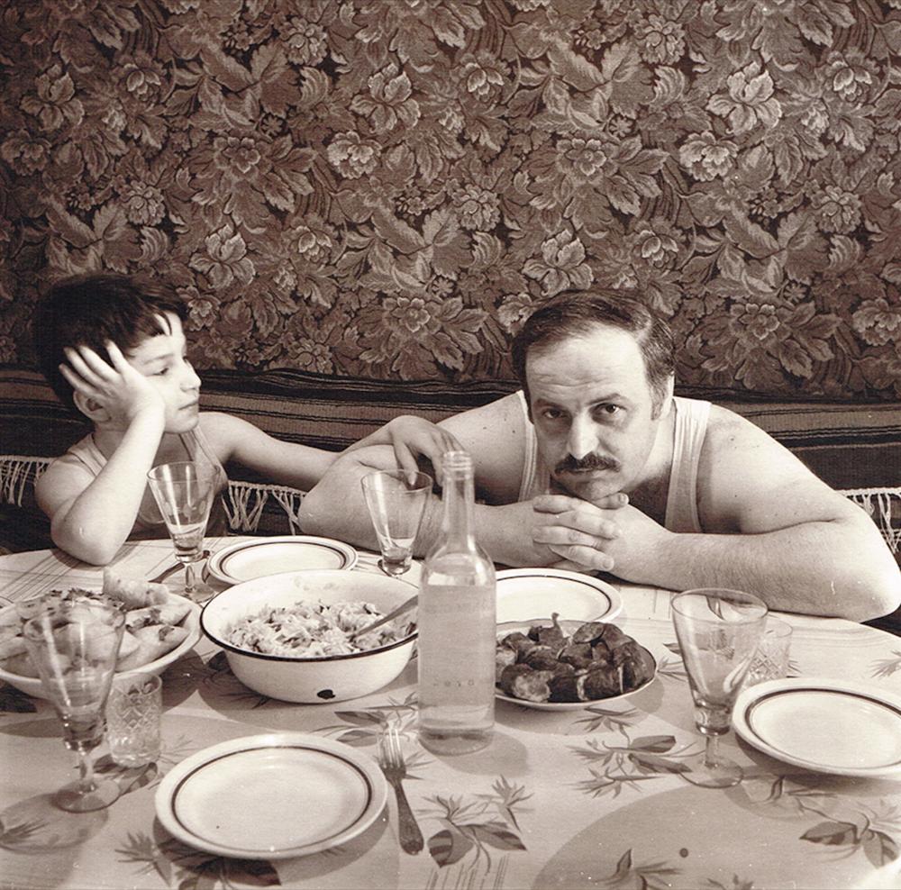 Чоловік Ріти Островської — Алік — з сином Сашею, 1988 рік, Біла Церква. З серії «Сімейний альбом»