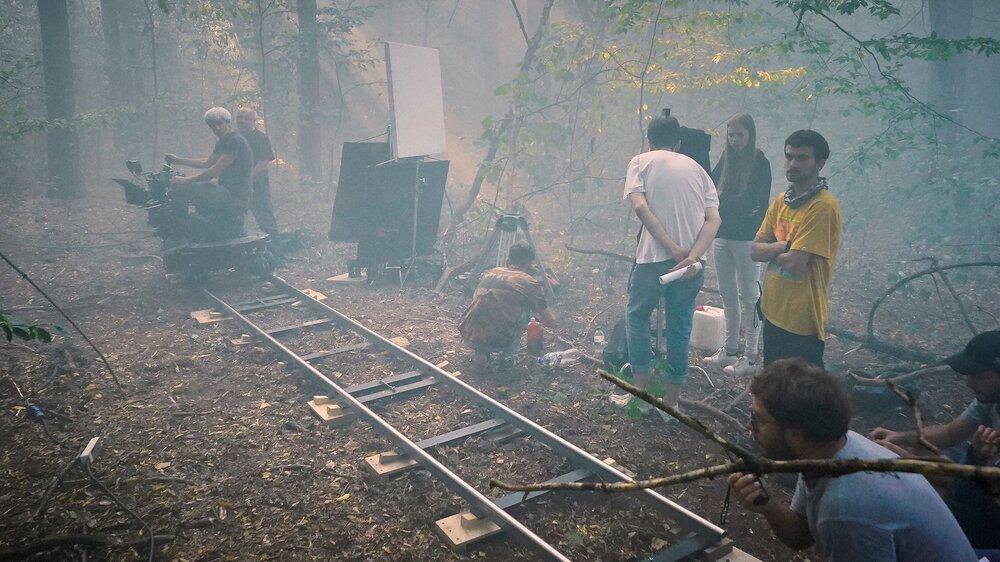 На фото: Зйомки фільму «Нетерпимість» Станіслава Битюцького. Автор фото: Юлія Пацьора