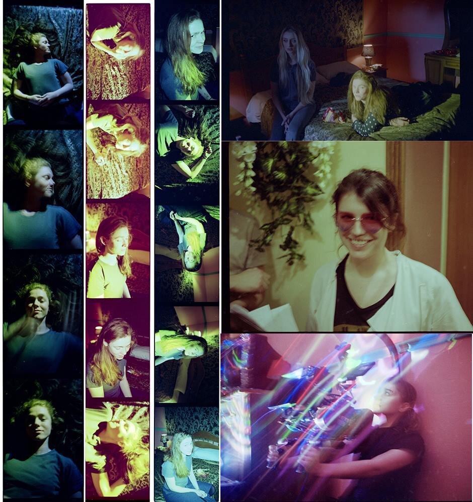 На фото: колаж зі зйомок дипломного фільму Маргарити Лукіч. Надано авторами