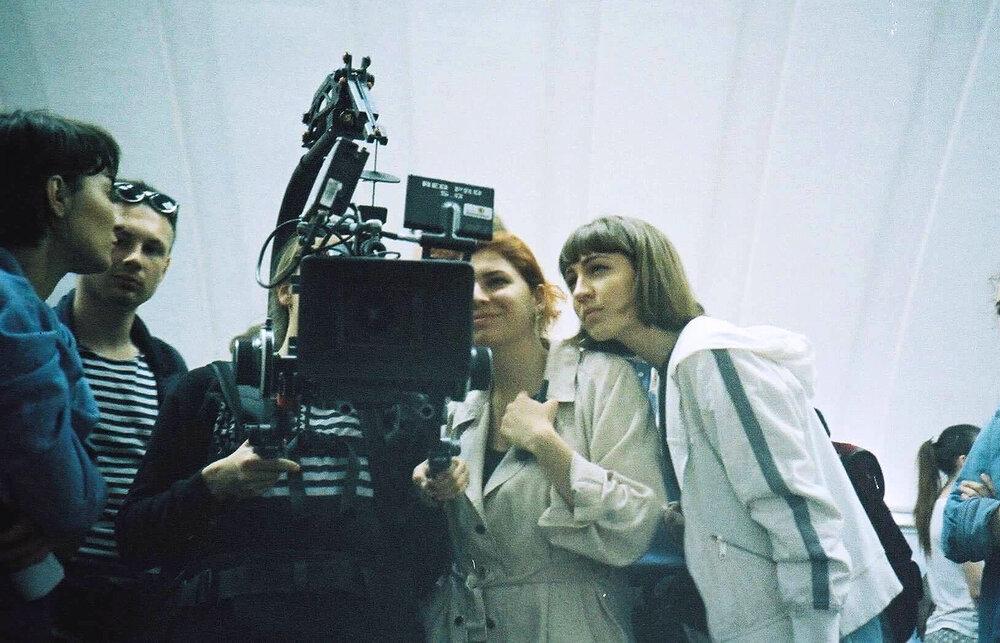 На фото: зйомки дипломного фільму Маргарити Лукіч. Надано авторами