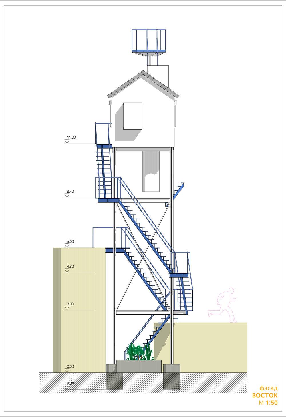 Візуалізація проєкту. Зроблена архітекторкою Анною Бажановою, 2017