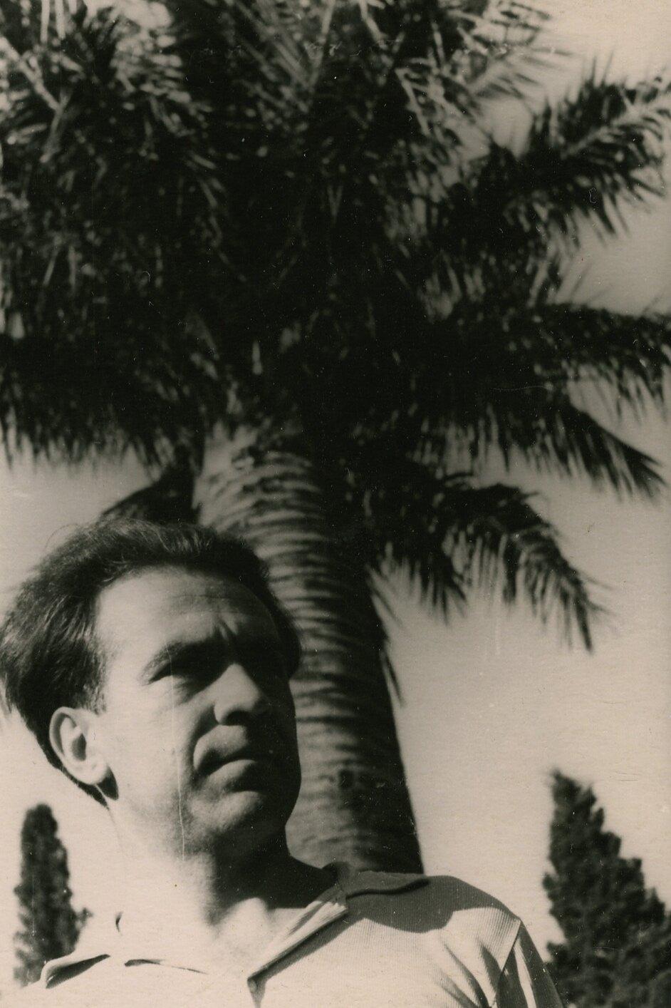Валерий Ламах. Сухуми, 1959