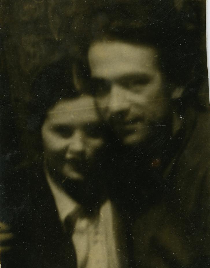 Алина и Валерий Ламахи. Старая Дарница, 1954