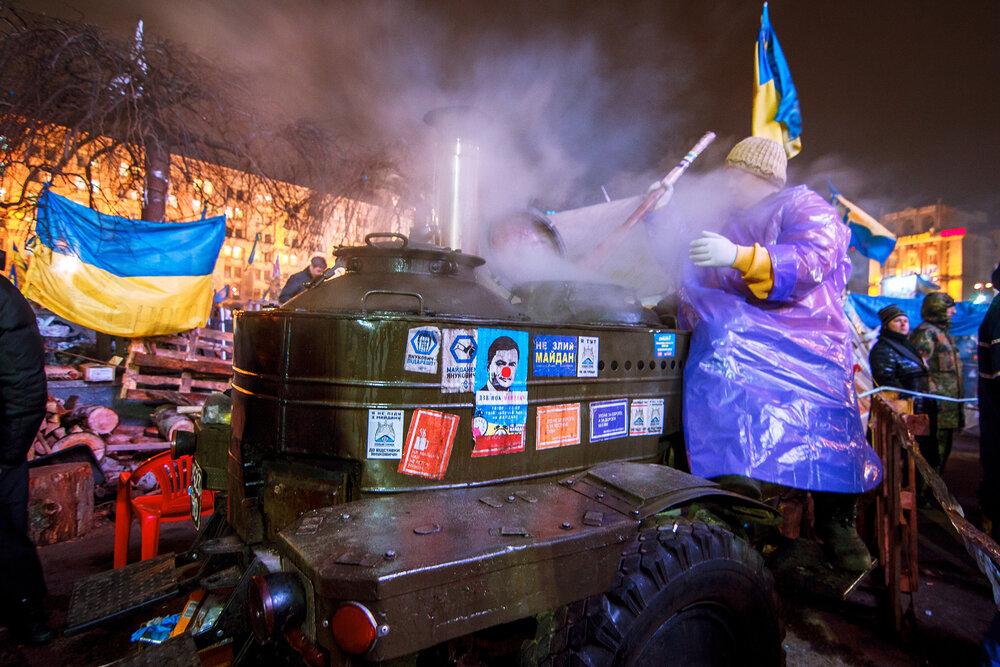 Майдан Незалежності, 2013