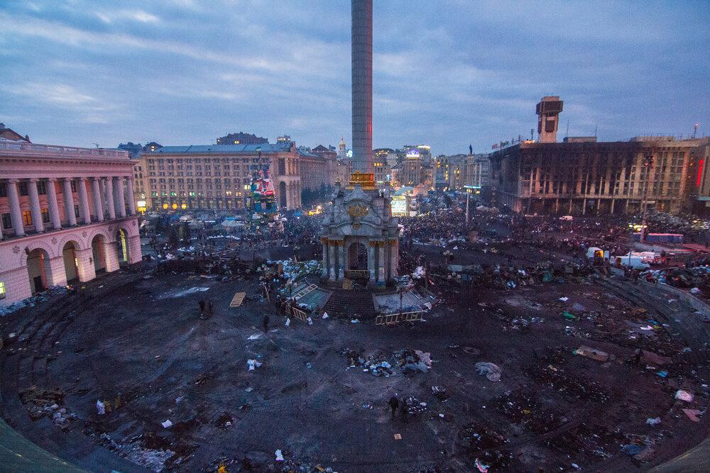 Майдан Незалежності, 2014