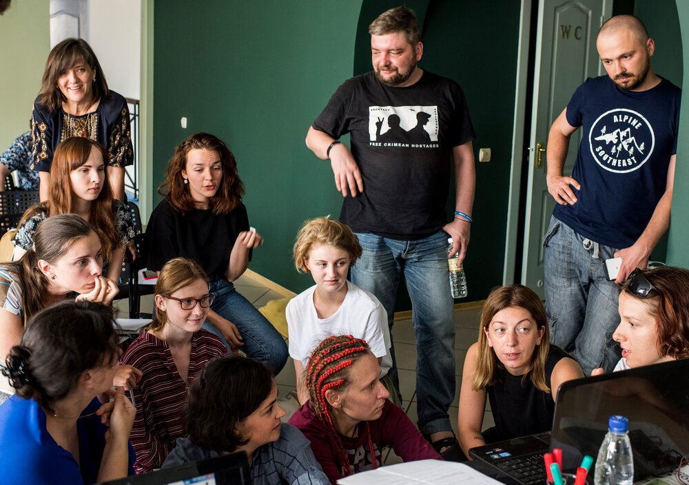 Школа етичної журналістики ОБСЄ. Фото надано Катериною Сергацковою, автор: Євген Малолетка