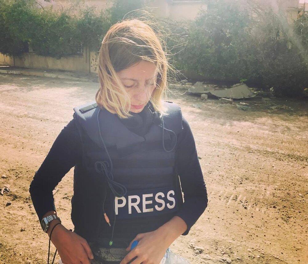 Фотографія зроблена на передовій у західній частині Мосулу, Ірак. Березень, 2017 рік. Фото надано Катериной Сергацковою