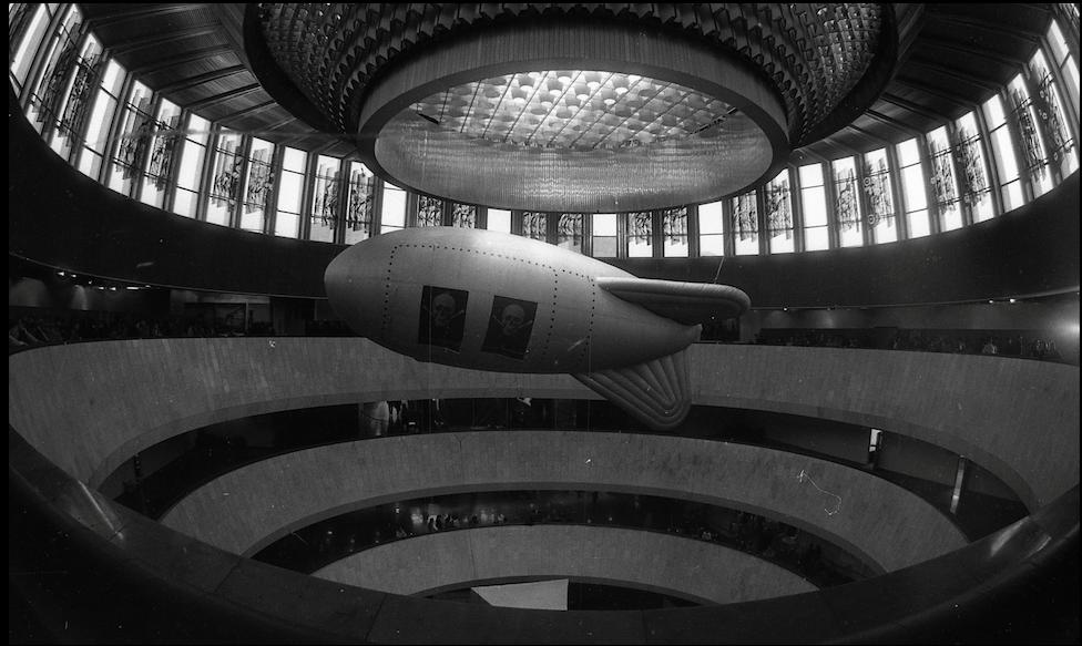 Виставка «Простір культурної революції», Український дім, 1994 рік. Фото надане Олександром Соловйовим