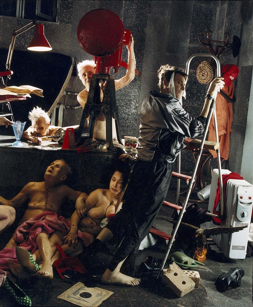 Арсен Савадов, «Книга мертвих», 2001 рік. Фото надане Олександром Соловйовим
