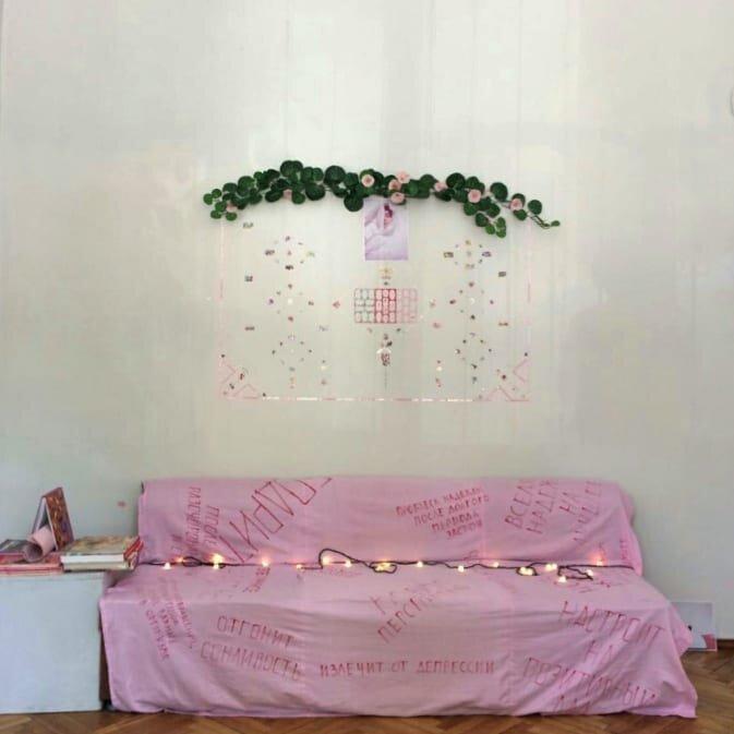«Рожева виставка», «Галерея на Проскурівській», Хмельницький, 2018. Фото надане Анітою Немет