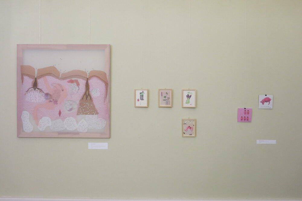«Рожева виставка», галерея Гарі Боумена, Львів, 2019. Фото надане Анітою Немет
