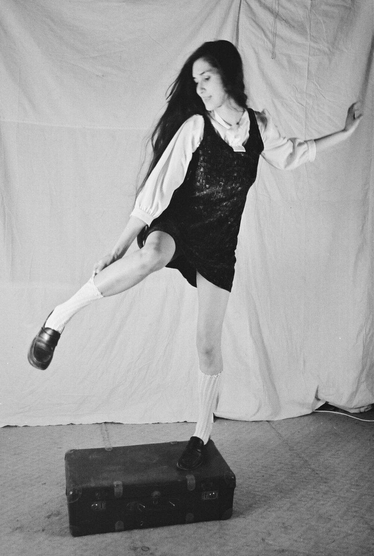 Лера Полянскова. Спектакль «Критические дни». Фото предоставлено театром-студией «Арабески»