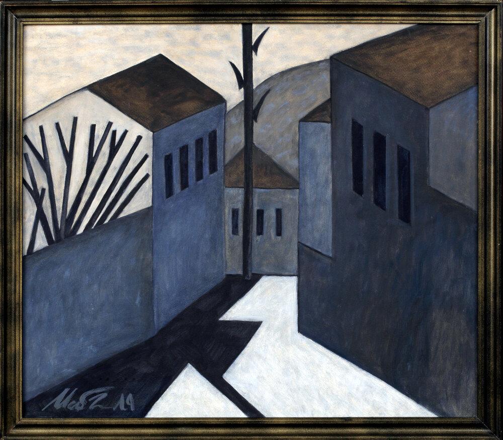«Улочка в Бахчисарае», 1989