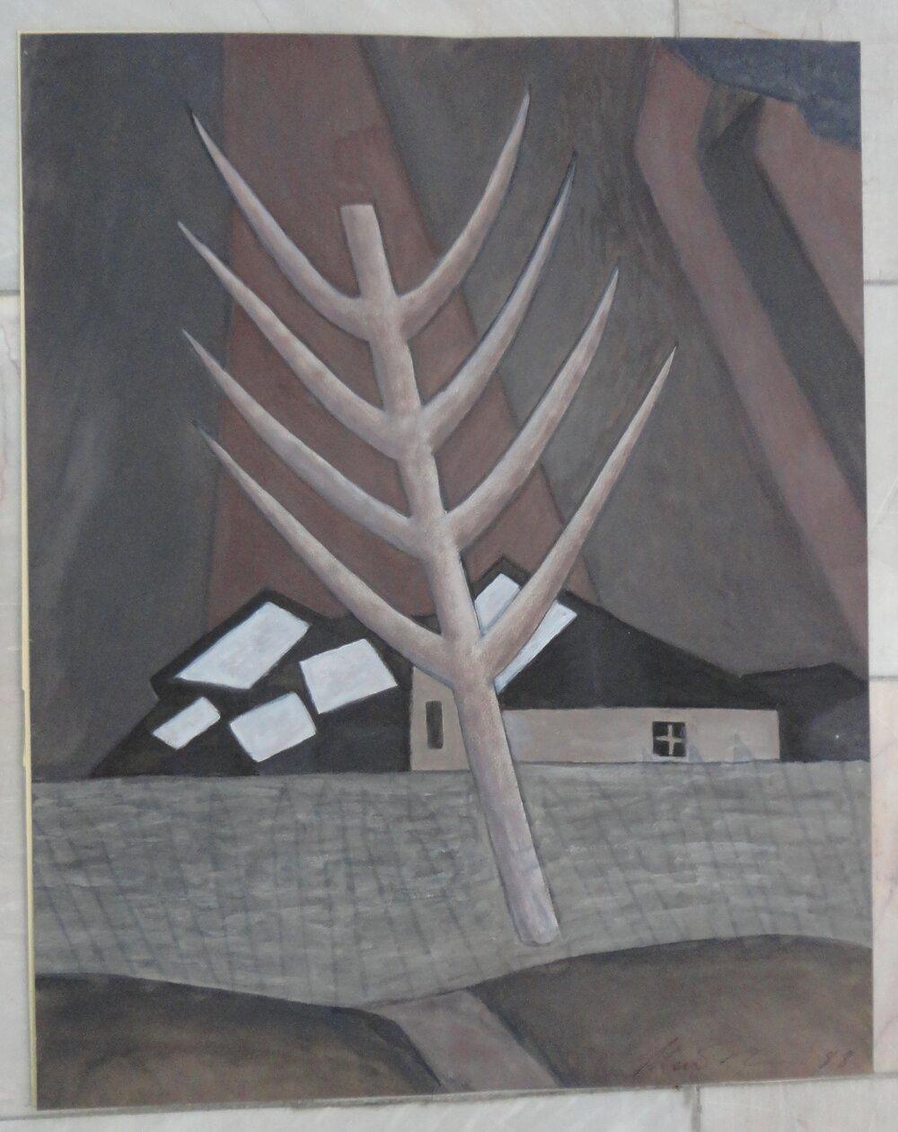 «Тал», 1988, из серии «Окрестности Ферганы»