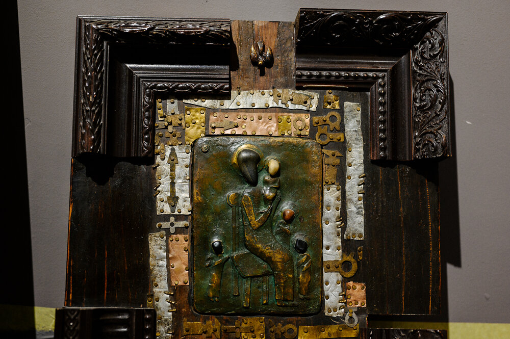 Монтаж виставки «Одкровення». Автор фото: Іван Страхов